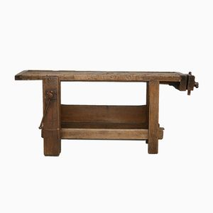 Vintage French Workbench, 1920s