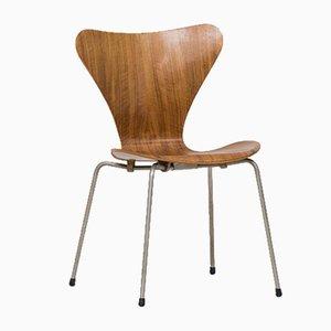 Chaise de Salle à Manger Butterfly Série 7 par Arne Jacobsen pour Fritz Hansen, 1955