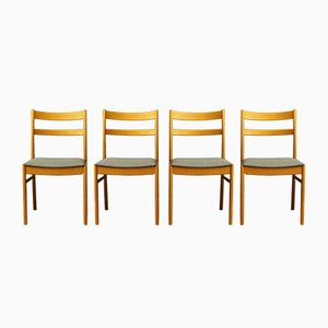 Danish Chairs, 1960s, Set of 4