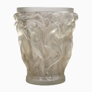 Bacchantes Glass Vase by René Lalique, 1927