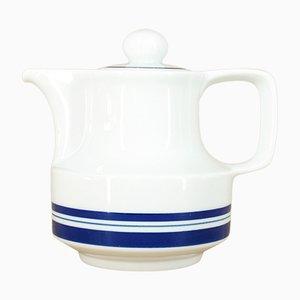 Teekanne aus Porzellan von VEB Porzellankombinat Colditz, 1970er