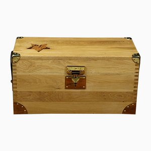 Oak & Snakewood Trunk, 1950s