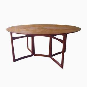 Teak Dining Table by Peter Hvidt & Orla Mølgaard Nielsen for France & Søn, 1959