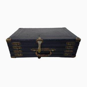 Porte-Documents de Bijoutier Modèle R1605 Noir Vintage