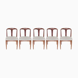 Vintage Juliane Dining Chairs by Johannes Andersen for Uldum Møbelfabrik, 1960s, Set of 5