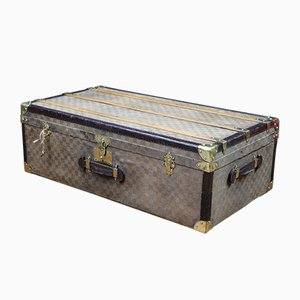 Vintage Checkered Trunk