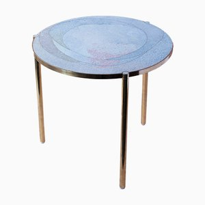 Soft Rose TINCT Side Table by Justyna Poplawska