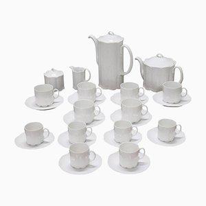 Servicio de café o té vintage de porcelana de Rosenthal, años 80