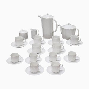 Vintage Porcelain Tea & Coffee Set from Rosenthal, 1980s