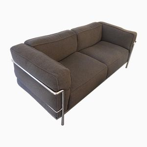 Vintage LC3 Sofa by Le Corbusier for Cassina