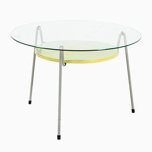 Vintage Dutch Mosquito Coffee Table by Wim Rietveld for Gispen, 1950s