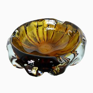 Swedish Glass Ashtray, 1960s