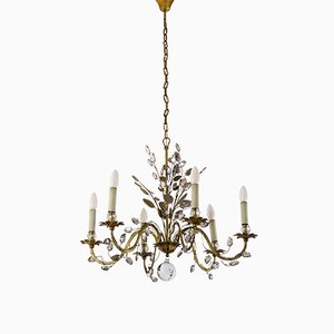 French Chandelier from Maison Baguès, 1950s