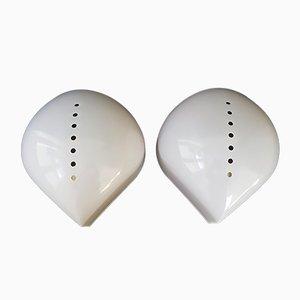 Lola Wandlampen aus Plexiglas von Giuliana Gramigna & Sergio Mazza für Quattrifolio, 1974, 2er Set
