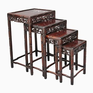 19th-Century Chinese Nesting Tables, 1880s