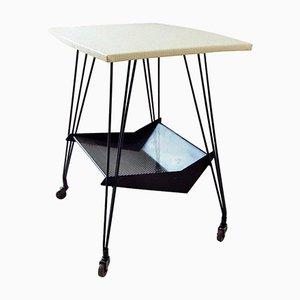 French Bar Cart from Atelier Matégot, 1950s
