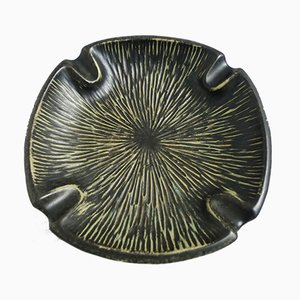 Cenicero de cerámica de Humlebæk Keramik, años 60
