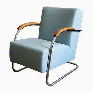 Bauhaus Armchair from Mücke Melder, 1930s