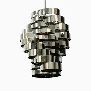 Lámpara de techo Mid-Century, años 70