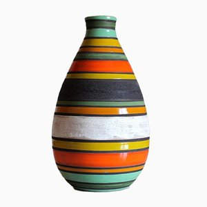 Vase Thailandia Mid-Century par Aldo Londi pour Bitossi, 1950s