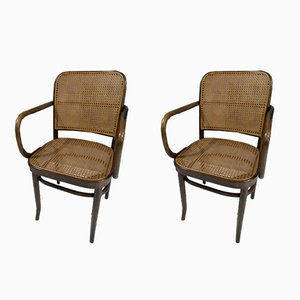 Modell 811 Esszimmerstühle von Thonet, 1960er, 2er Set