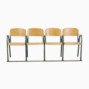 Mid-Century German Auditorium Seats, 1950s
