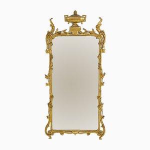Espejo francés antiguo dorado