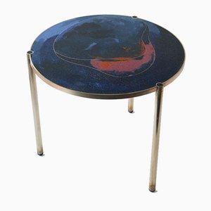 Table d'Appoint Tinct Bleu Foncé par Justyna Poplawska