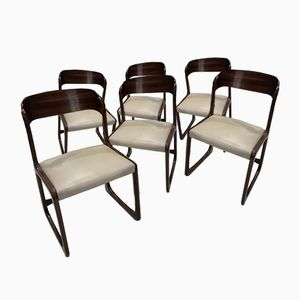Model Sled Dining Chairs from Baumann, 1970s, Set of 6