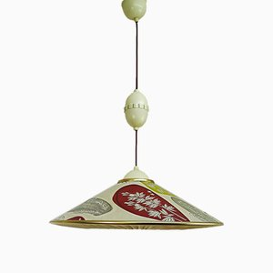 Mid-Century German Ceiling Lamp from Erco, 1950s