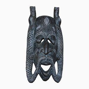 Vintage Namibian Wooden Mask, 1970s