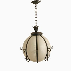Lampe à Suspension Mid-Century, Italie, 1950s