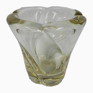Französische Mid-Century Vase von Daum, 1950er