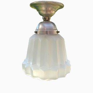 Französische Vintage Deckenlampe, 1930er
