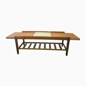 Vintage Teak Extendable Coffee Table from Remploy