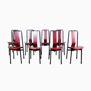 Dining Chairs by Achille Castiglioni for Zanotta, 1979, Set of 8