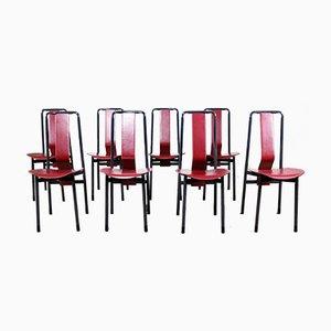 Esszimmerstühle von Achille Castiglioni für Zanotta, 1979, 8er Set