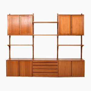 Vintage Teak Wall System by Poul Cadovius for Cado