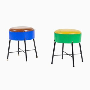 Vintage Children's Stools from Pilastro, 1950s, Set of 2
