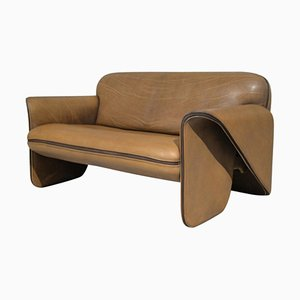 Vintage DS 125 Leather Sofa by Gerd Lange for de Sede, 1978