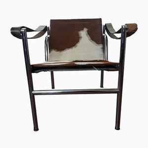 Vintage LC1 Sessel von Le Corbousier für Cassina