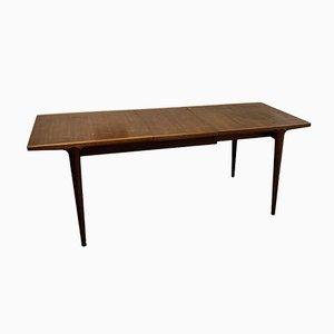 Mesa de comedor extensible vintage de Wrighton