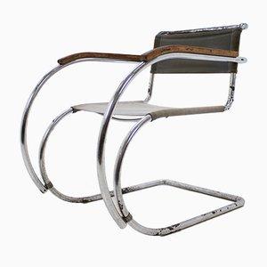Sedia MR 534 / MR 20 di Mies van der Rohe per Mücke Melder, anni '30