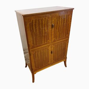 Mid-Century Walnut Drinks Cabinet