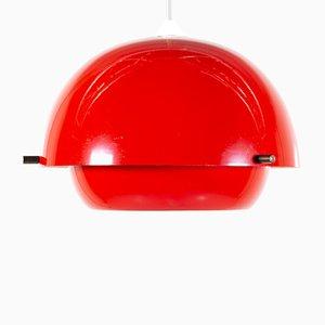 Lampe à Suspension Mid-Century en Métal, Danemark
