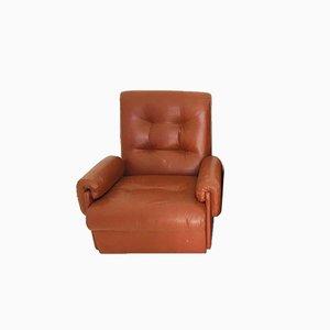 Braune Vintage Sessel, 1970er