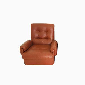 Vintage Brown Armchair, 1970s