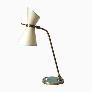Lámpara de mesa vintage de Lunel, años 50