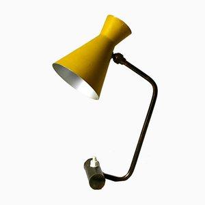 Lampe de Bureau avec Abat-Jour Ajustable Diabolo, 1950s