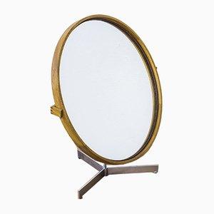 Espejo de mesa de Uno & Östen Kristiansson para Luxus, años 50